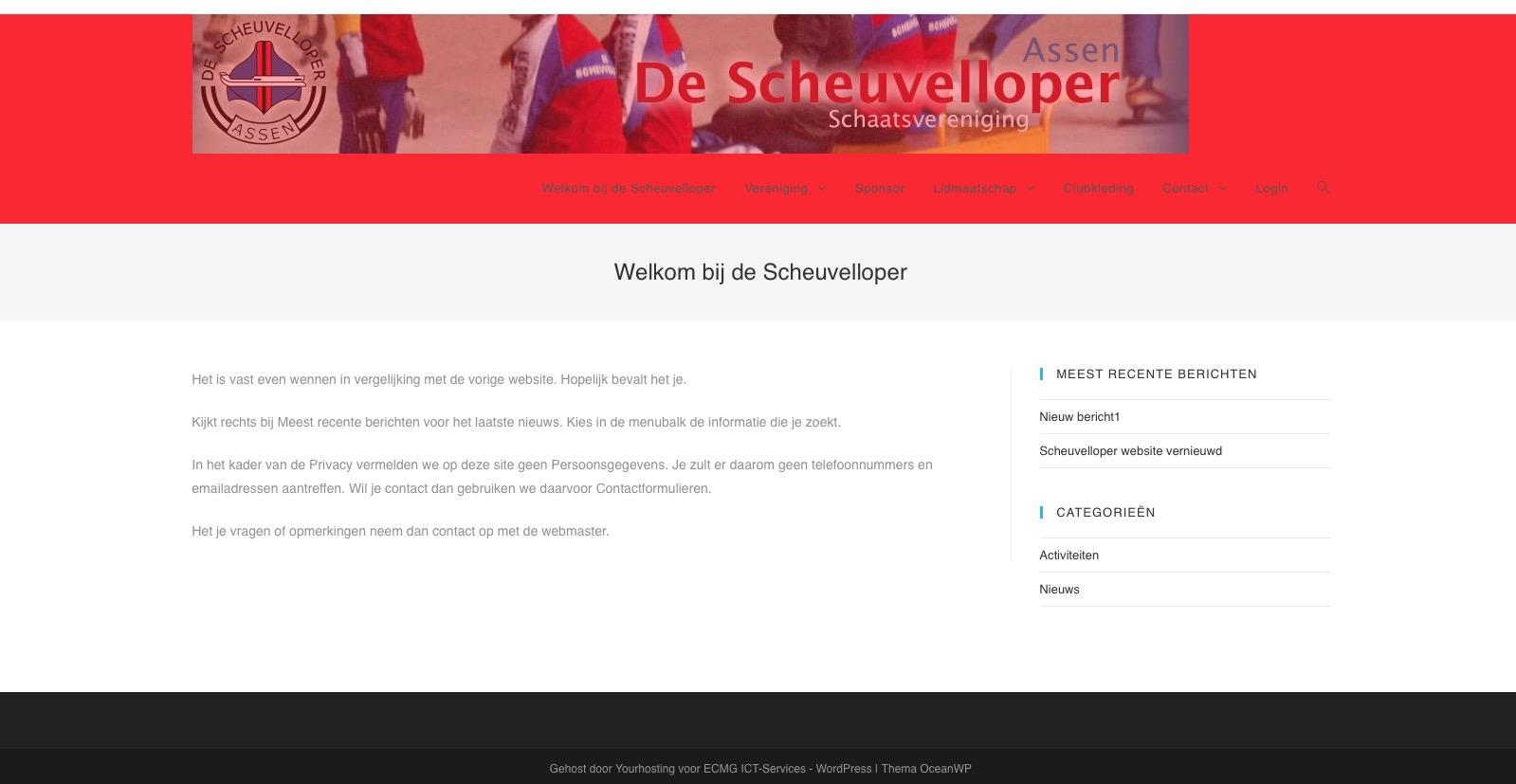 Scheuvelloper website vernieuwd